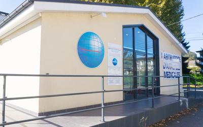 Site Laboratoire Biopole de Gan analyses médicales et biologiques
