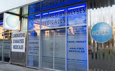 Site Laboratoire Biopole de Hendaye analyses médicales et biologiques