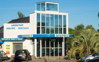 Site Laboratoire Biopole de Lescar analyses médicales et biologiques
